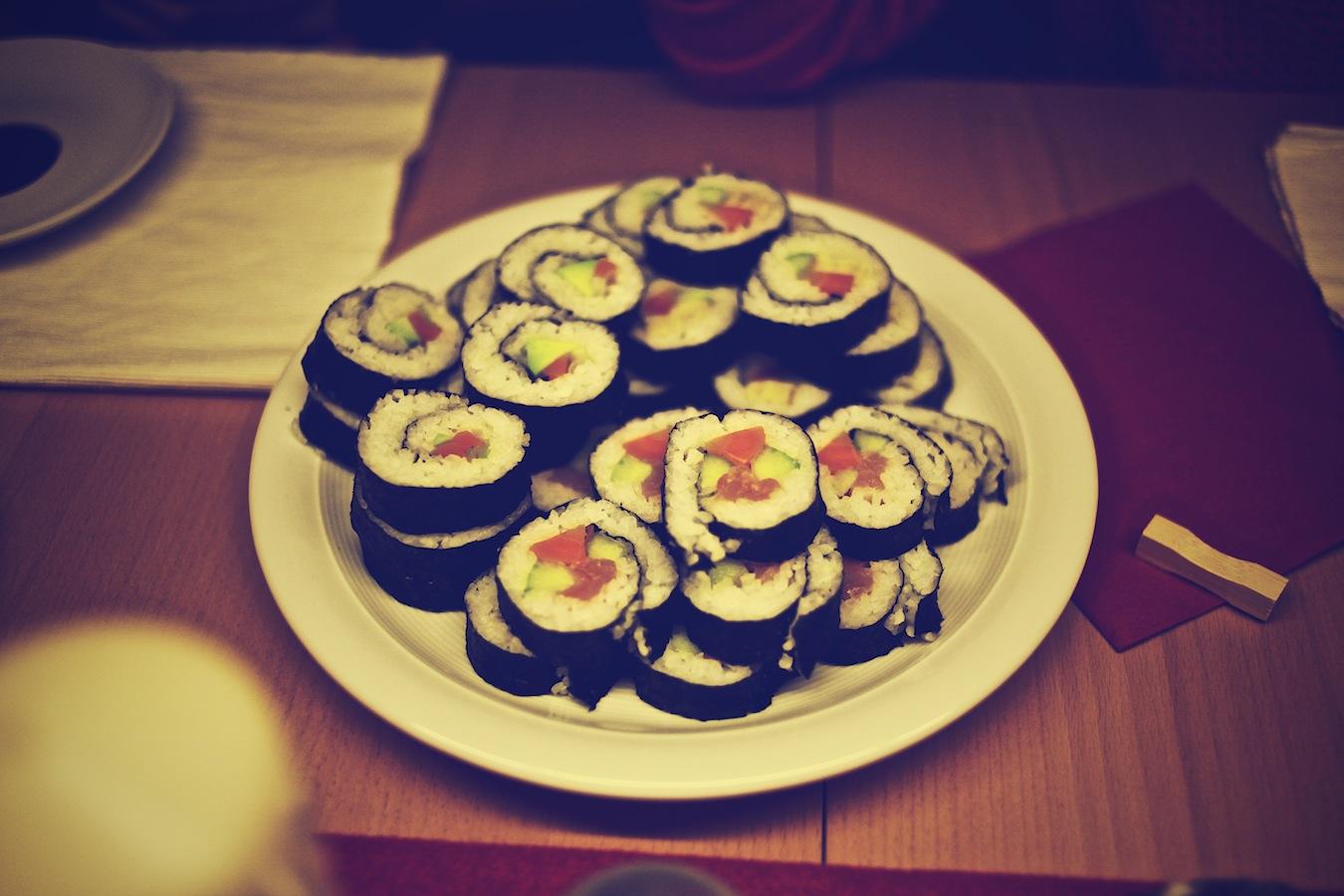 Sushi oder so
